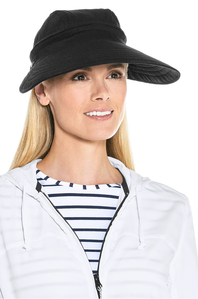 Women's Zip-Off Sun Visor UPF 50+