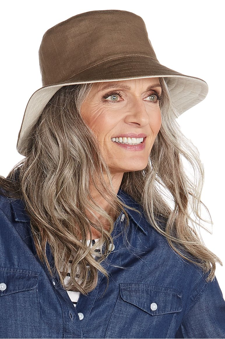 4ff674efcb8 Reversible Bayside Bucket Hat  Sun Protective Clothing - Coolibar