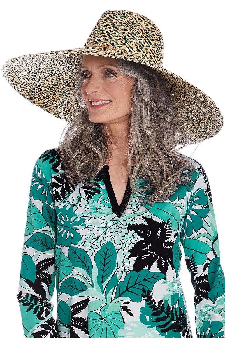 Women's Wide Brim Sun Hat UPF 50+