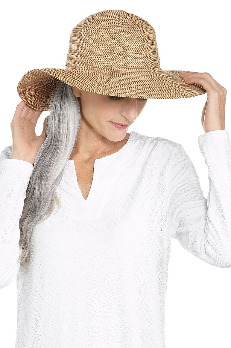 Women's Elegant Floppy Sun Hat UPF 50+