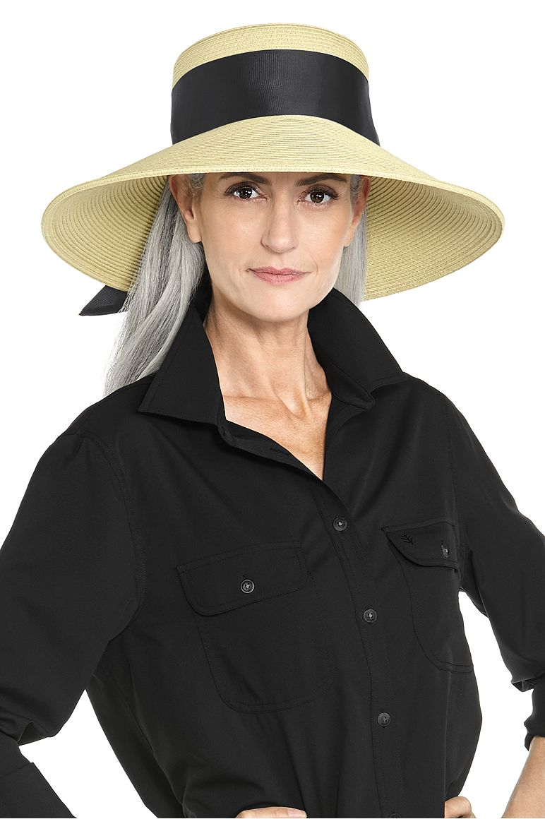 c56c60e38c2 Wide Brim Straw Hat  Sun Protective Clothing - Coolibar