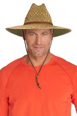 Men's Bondi Straw Beach Hat UPF 50+