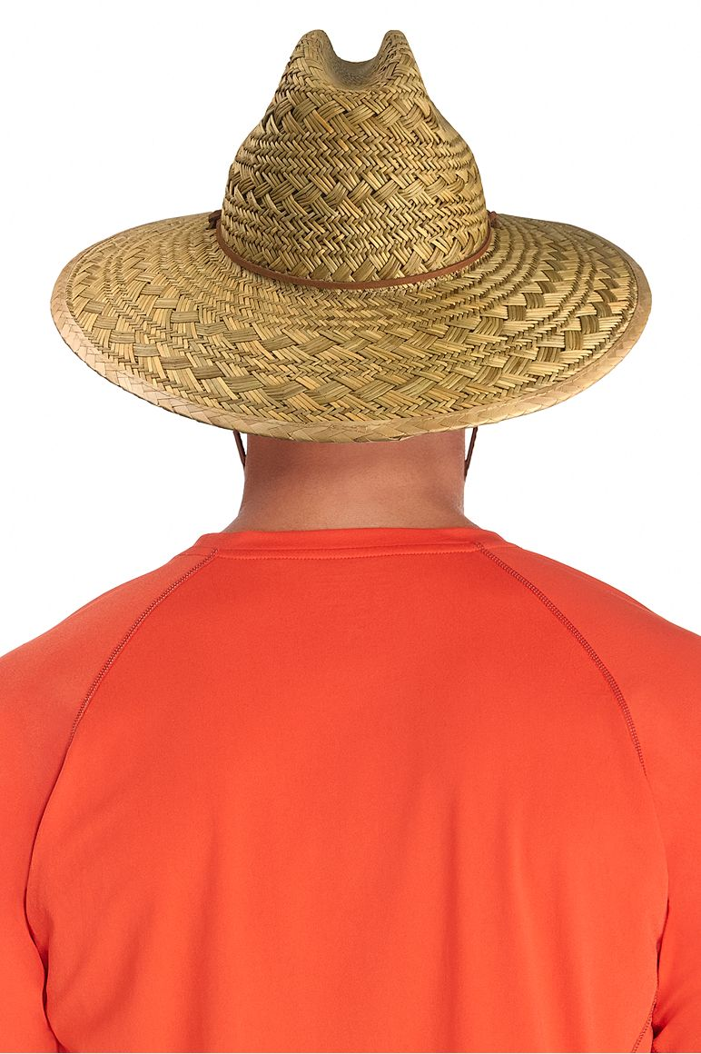 Men's Bondi Straw Beach Hat UPF 50+