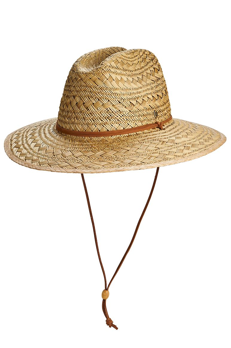 Men's Straw Beach Hat UPF 50+