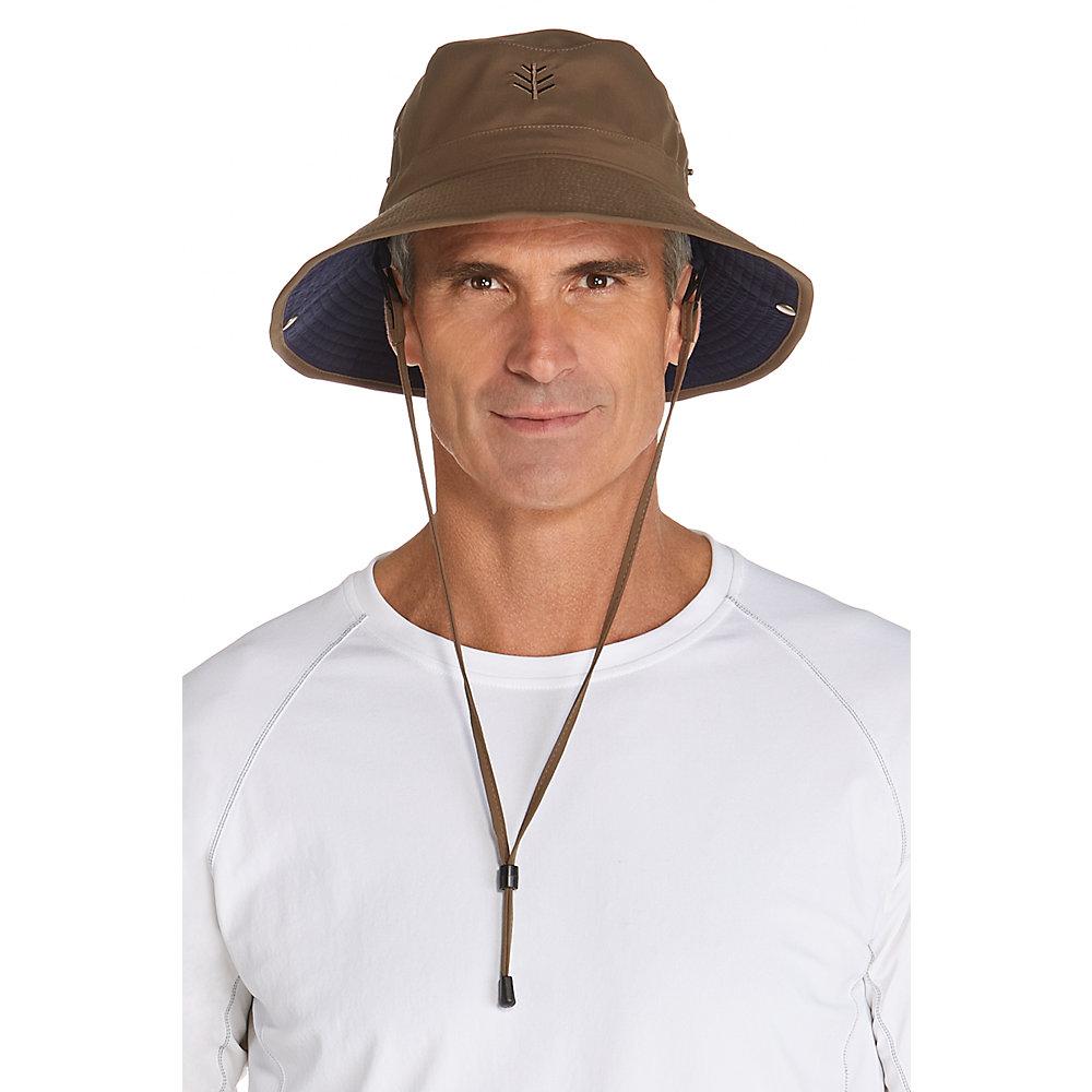 b9061a9e Details about Coolibar UPF 50+ Men's Featherweight Bucket Hat