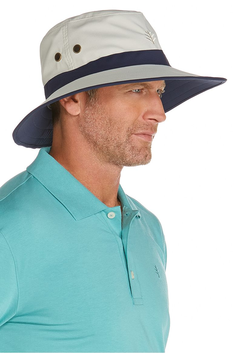 76a08134e2b95 Men s Matchplay Golf Hat  Sun Protective Clothing - Coolibar   Sun  Protective Clothing - Coolibar