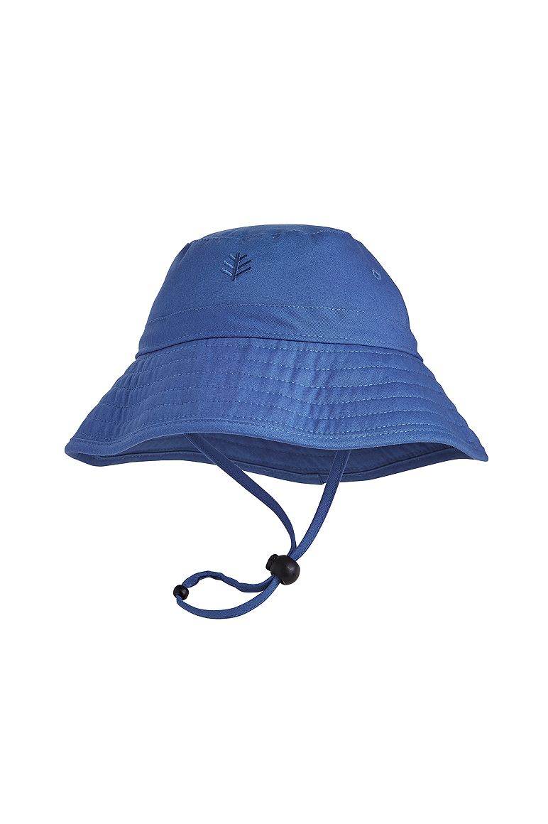 Toddler Chin Strap Hat Empire Blue 2T-3T Solid
