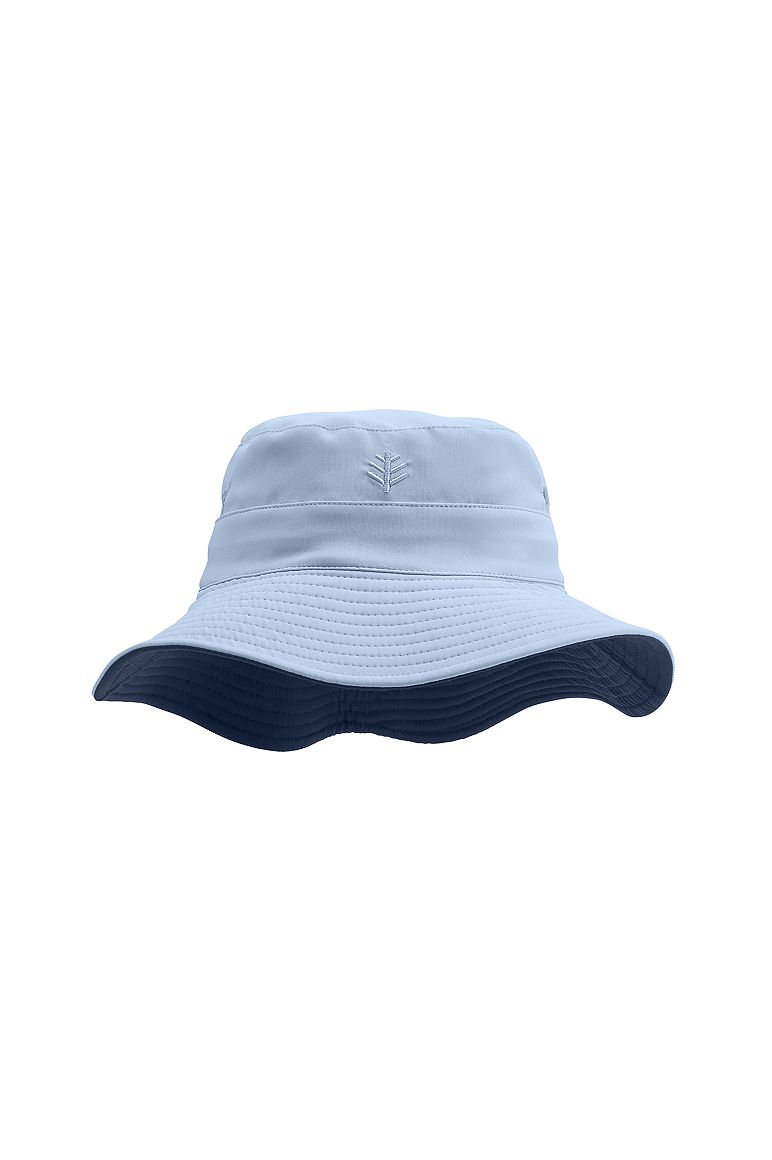 Reversible Bucket Hat Vintage Blue/Navy L/XL Solid