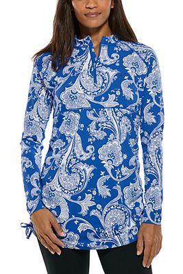 Women's Lawai Ruche Swim Shirt UPF 50+