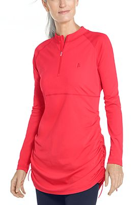 Women's Lawai Ruche Swim Shirt UPF 50+