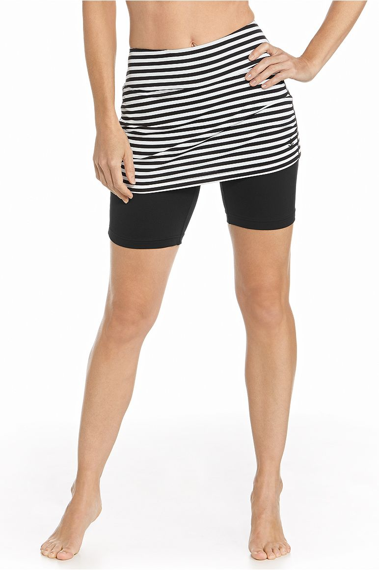 Women's Skirted Swim Shorts UPF 50+