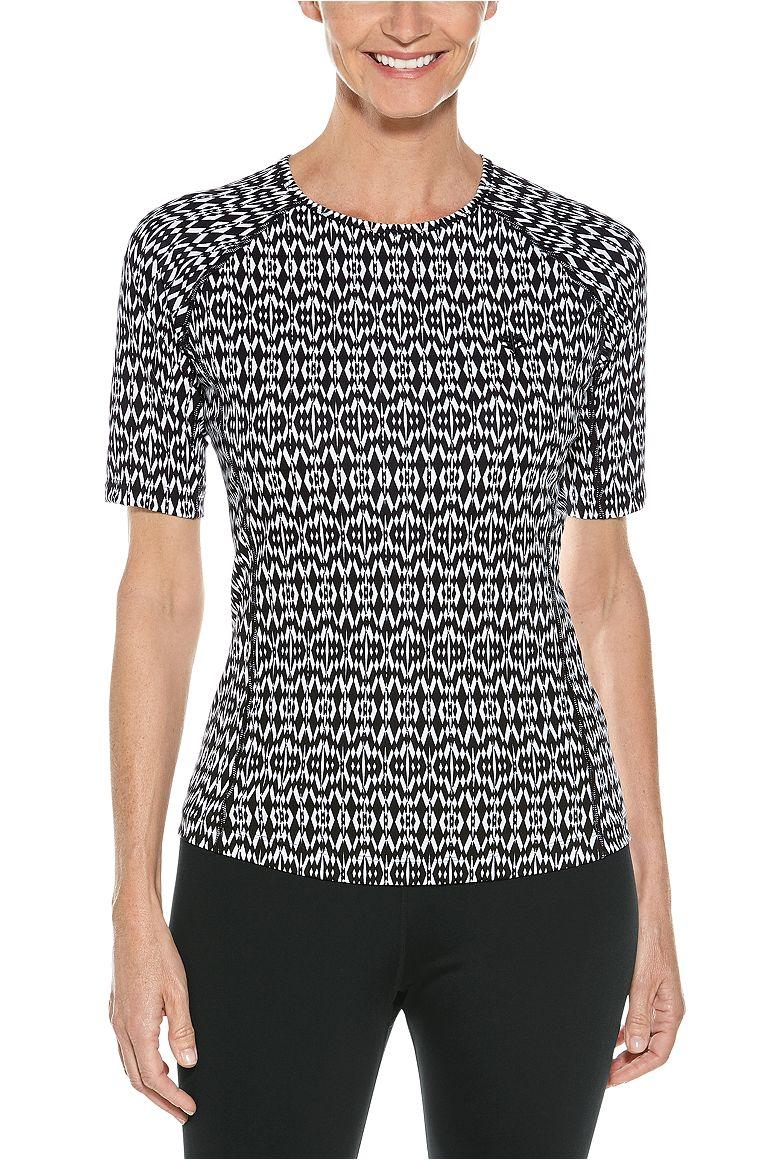 Women's Short Sleeve Hightide Swim Shirt UPF 50+