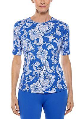 Women's Hightide Short Sleeve Swim Shirt UPF 50+