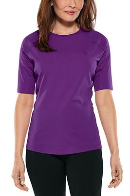 Women's Hightide Short Sleeve Swim Shirt UPF 50+