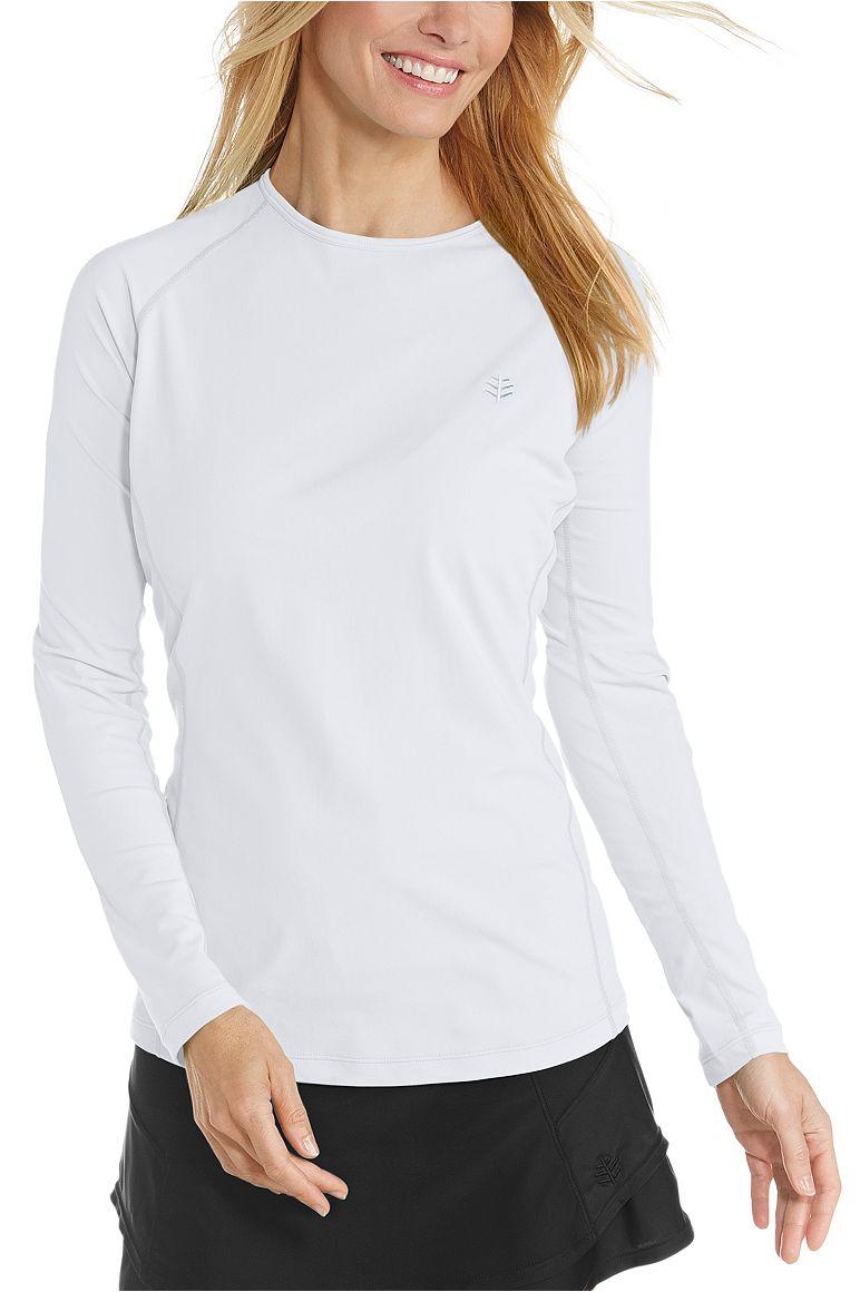 Women's Long Sleeve Swim Shirt UPF 50+