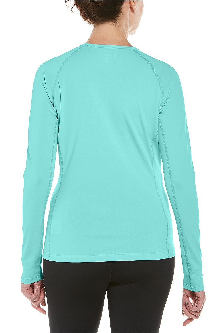 Women's Long Sleeve Swim Shirt UPF 50+