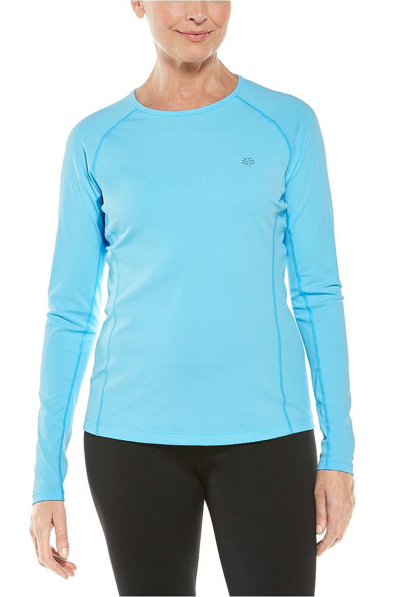 Women's Long Sleeve Hightide Swim Shirt UPF 50+
