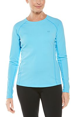 Women's Hightide Long Sleeve Swim Shirt UPF 50+