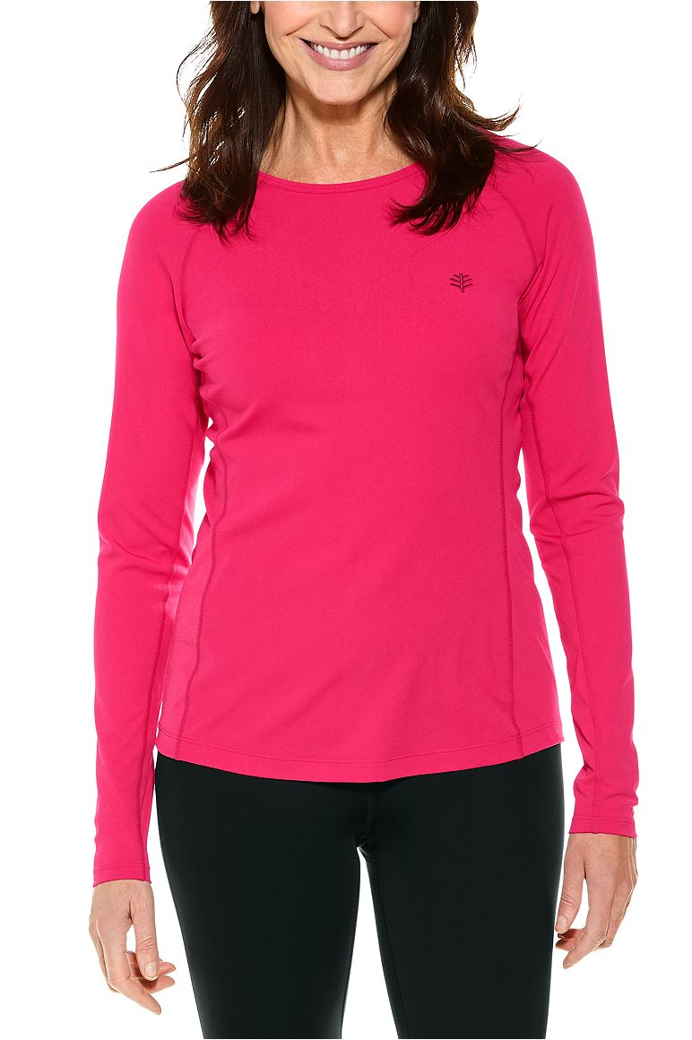 Women's Long Sleeve Hightide Swim Shirt UPF 50+