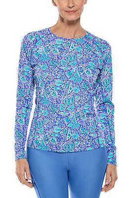 Women's Hightide Long Sleeve Swim Shirt UPF 50+