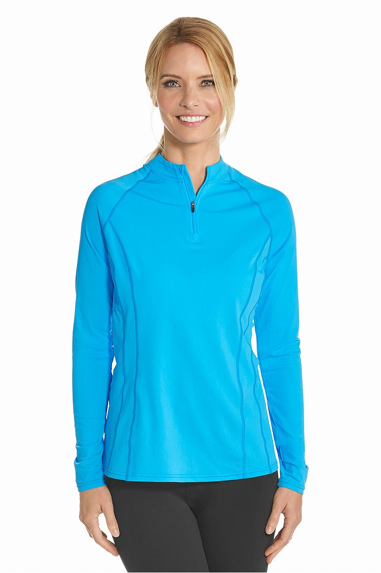 Women's Long Sleeve Rash Guard UPF 50+