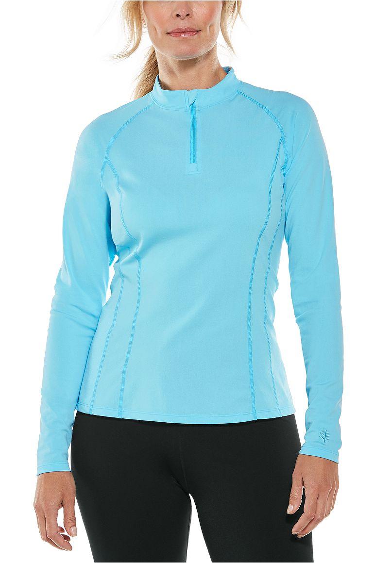 Women's Long Sleeve Freestyle Rash Guard UPF 50+