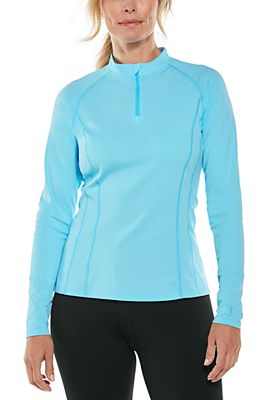 Women's Freestyle Long Sleeve Rash Guard UPF 50+