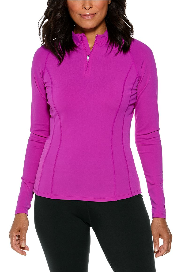 Women's Long Sleeve Freestyle Rash Guard UPF 50+