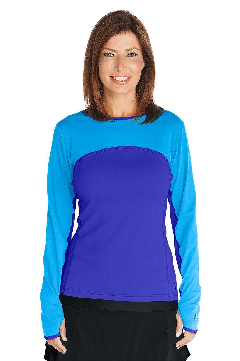 Coolibar Women\'s Upf 50 Plus Sport Uv Polo T-Shirt B005174XU0
