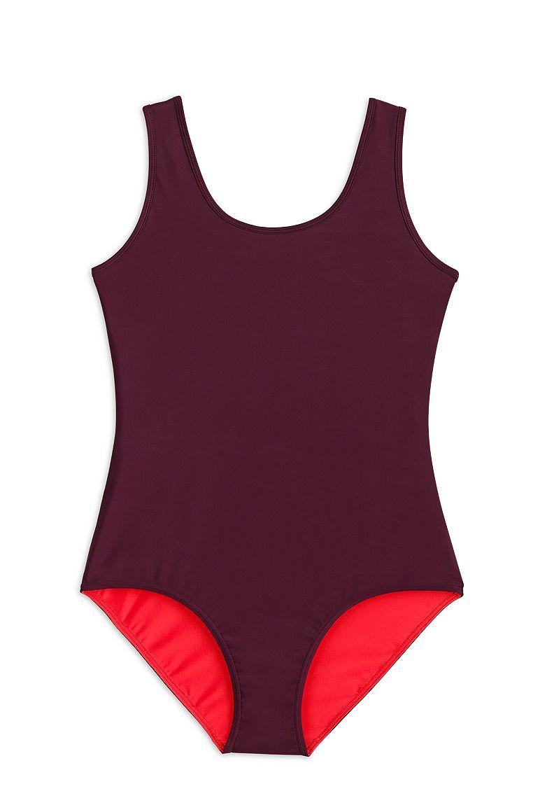 Women's Reversible Athletic Swimsuit UPF 50+