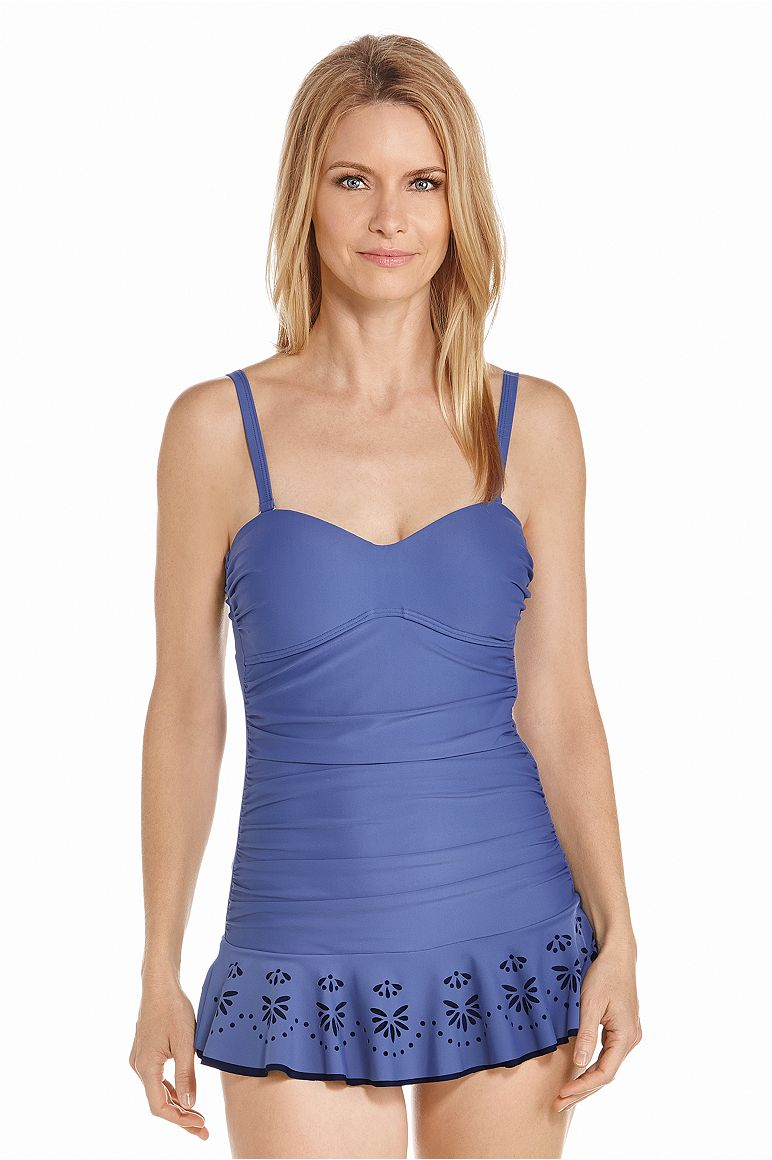 Women's Peplum Swimsuit UPF 50+