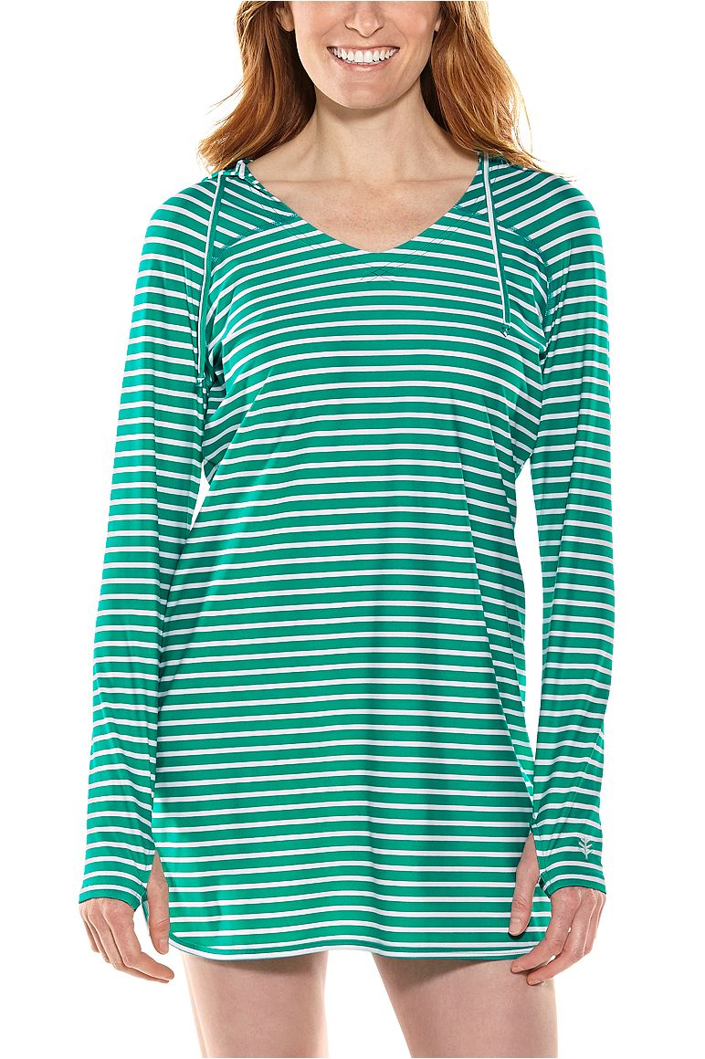 Women's Seacoast Swim Cover-Up Dress UPF 50+