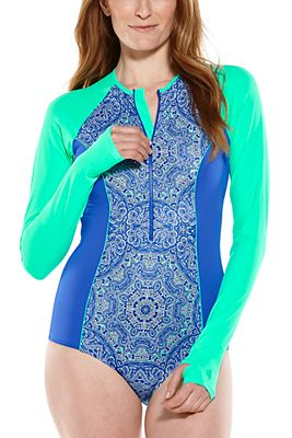 Women's Escalante Long Sleeve Swimsuit UPF 50+