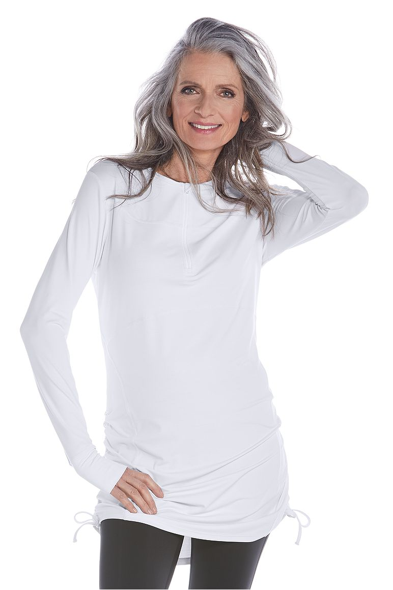 63a729602a8 Long Sleeve Swim Top UPF 50+  Sun Protective Clothing - Coolibar