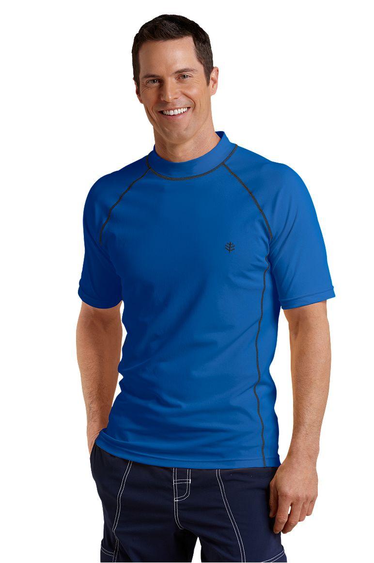 Men's Short Sleeve Swim Shirt
