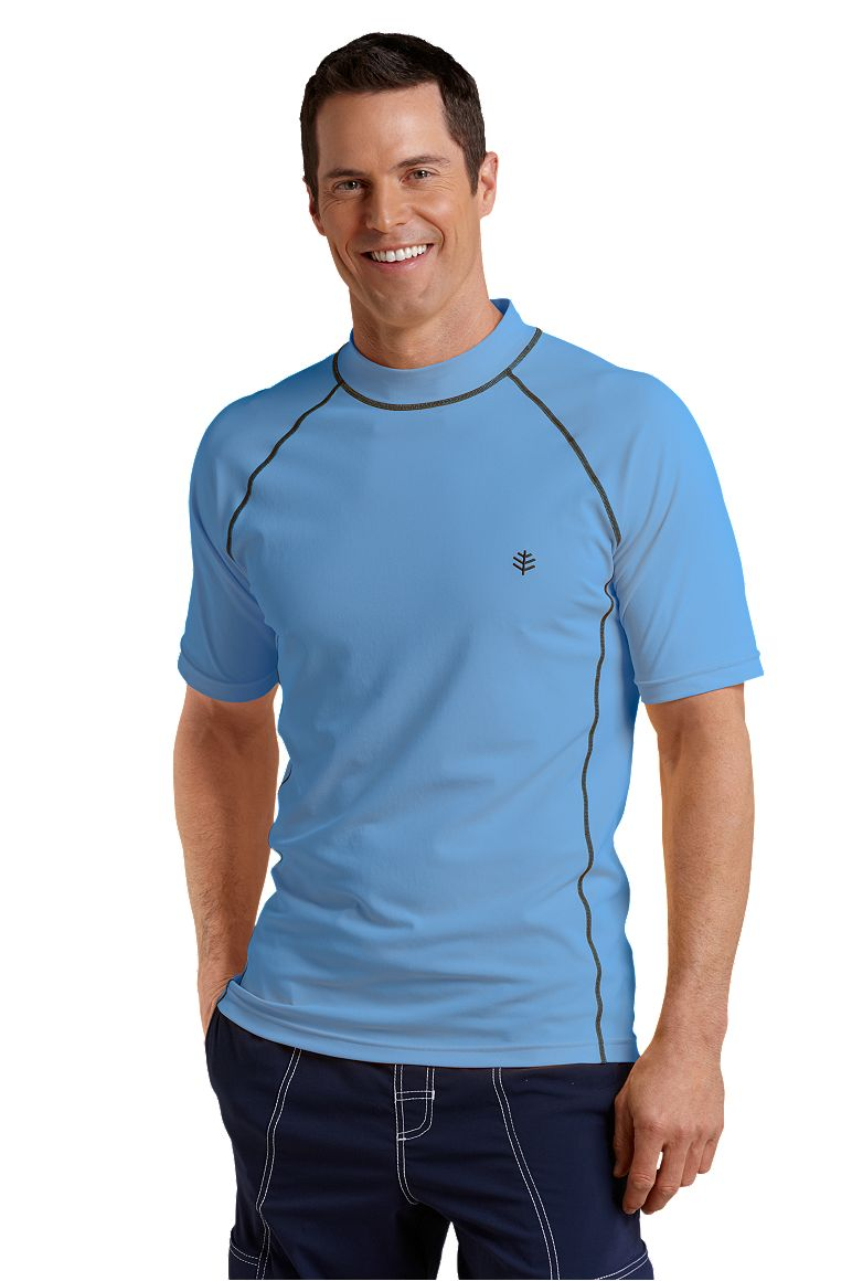 Men's Short Sleeve Swim Shirt