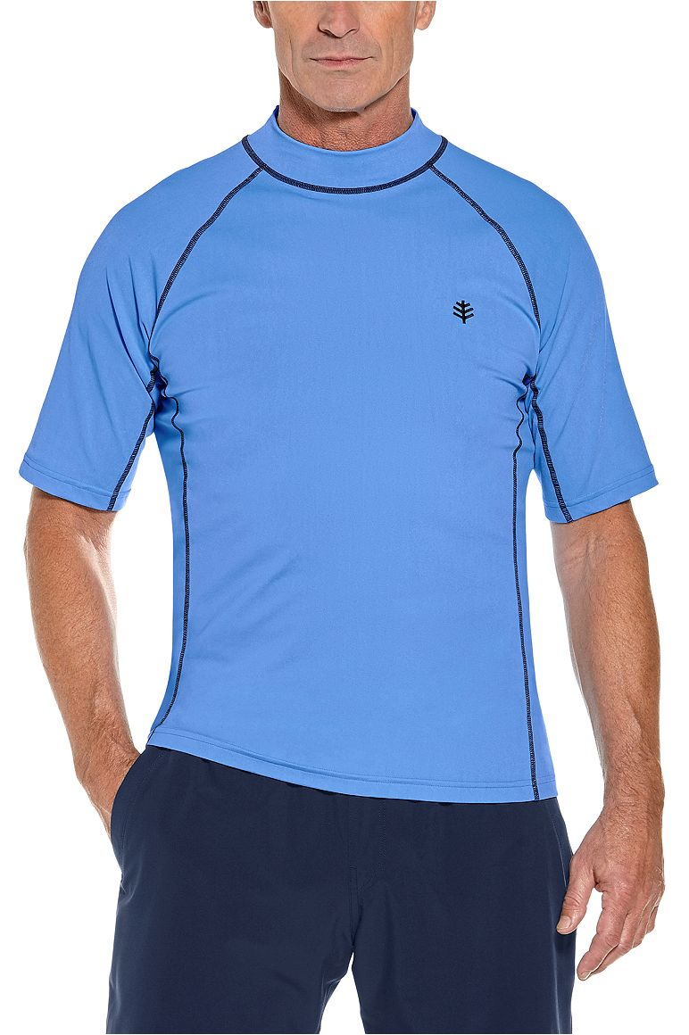 Men's Short Sleeve Surf Rash Guard