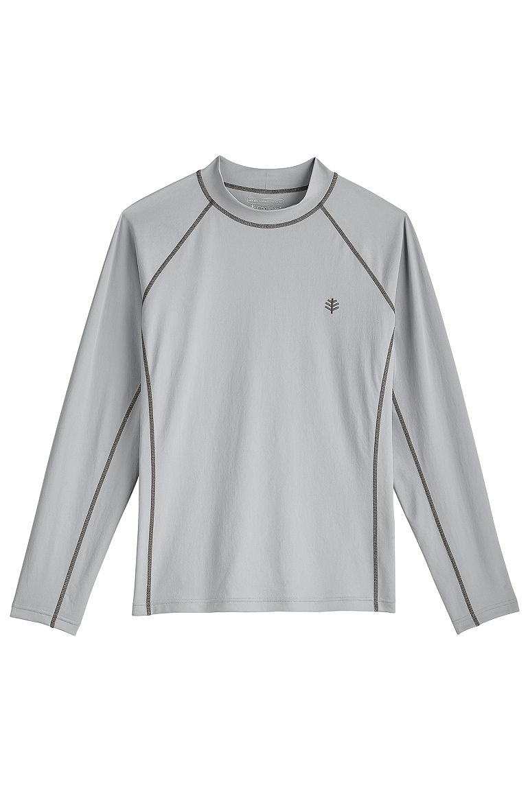 Men's Long Sleeve Surf Rash Guard UPF 50+