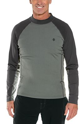 Men's Tulum Long Sleeve Surf Rash Guard UPF 50+