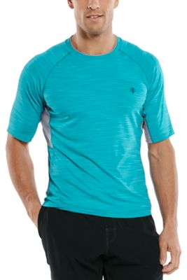 Men's Ultimate Short Sleeve Rash Guard UPF 50+