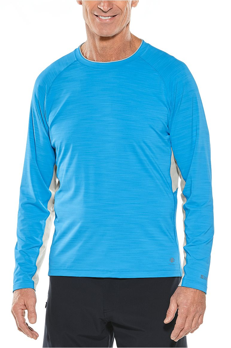 Men's Long Sleeve Ultimate Rash Guard UPF 50+