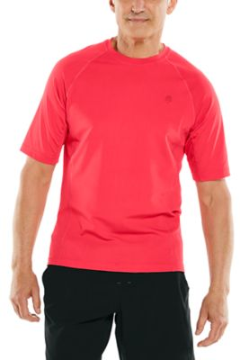 Men's Hightide Short Sleeve Swim Shirt UPF 50+