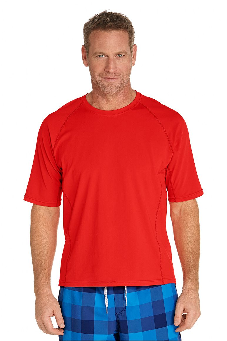 Men's Swim Shirt UPF 50+