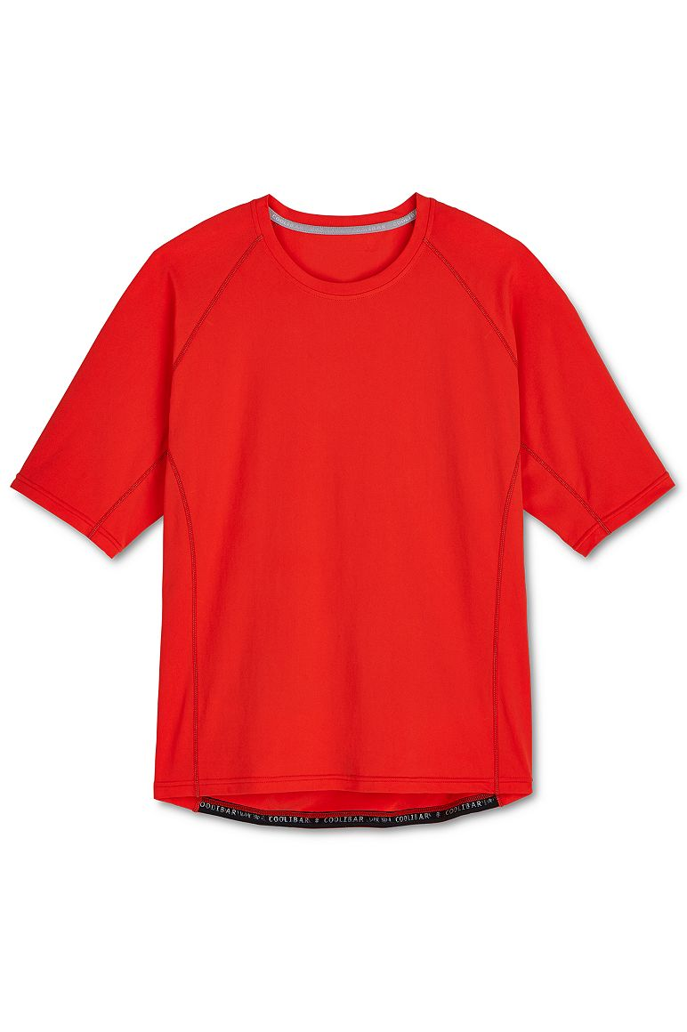 Men's Short Sleeve High Tide Swim Shirt UPF 50+