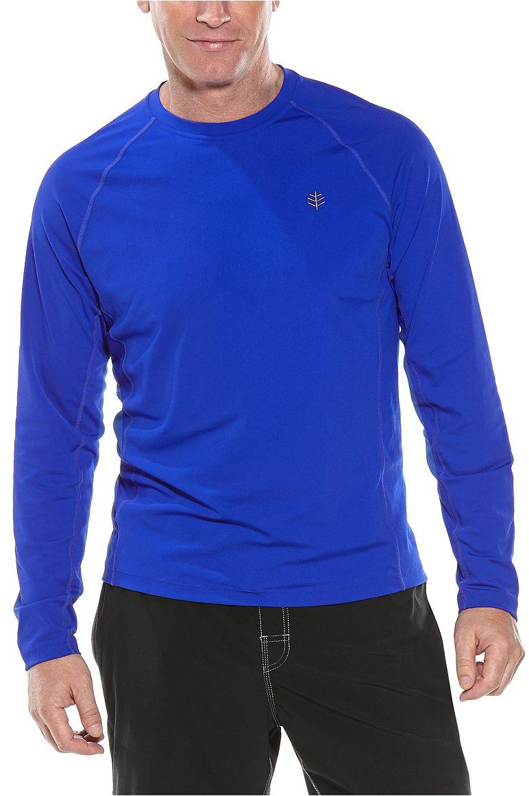 Men's Long Sleeve Hightide Swim Shirt UPF 50+