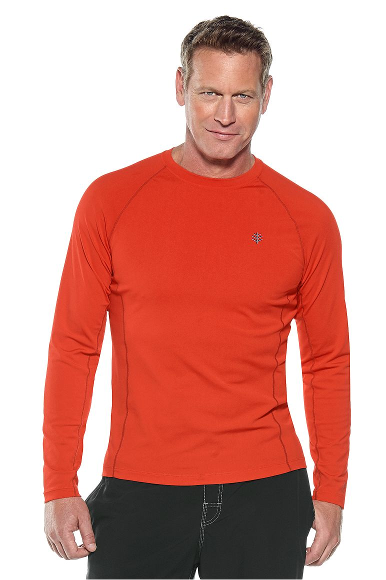Men's Long Sleeve High Tide Swim Shirt UPF 50+
