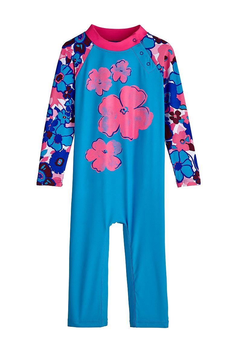 Baby Girl Beach One-Piece Swimsuit UPF 50+