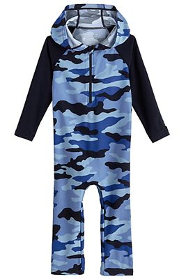 Baby Finn Hooded One-Piece Swimsuit UPF 50+