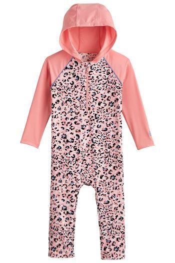 Baby Finn Hooded One-Piece Swimsuit