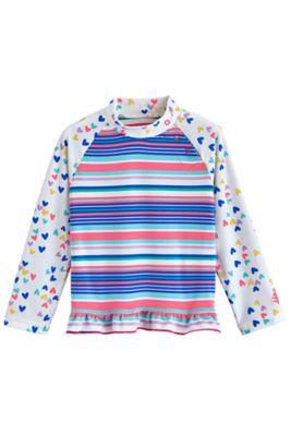 Baby Guppy Ruffle Swim Shirt UPF 50+